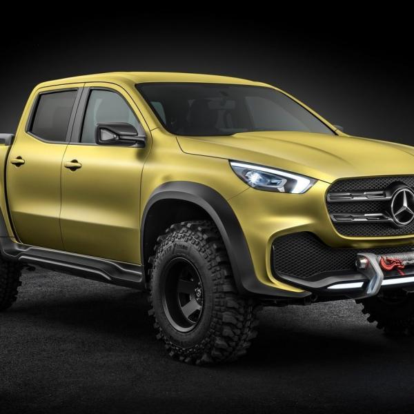 Mercedes-Benz Clase X, la primera pick up de gama alta