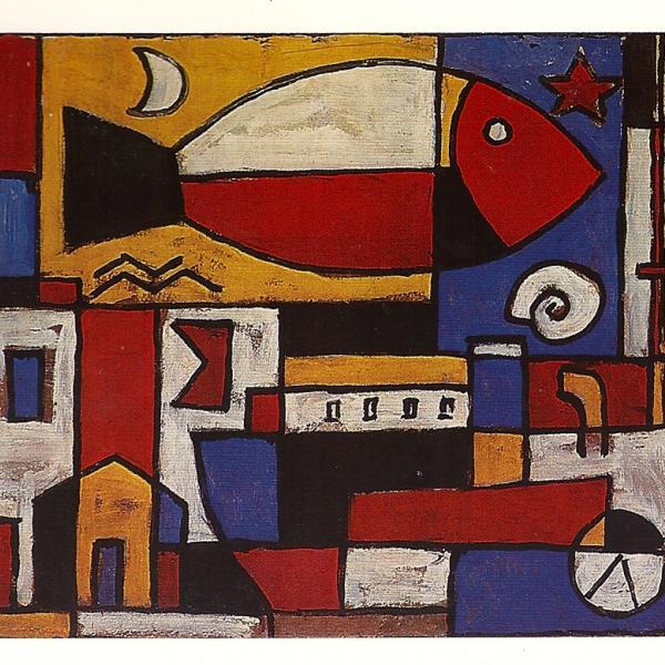 Torres garc a la maldici n del pintor uruguayo for Cuadros con formas geometricas