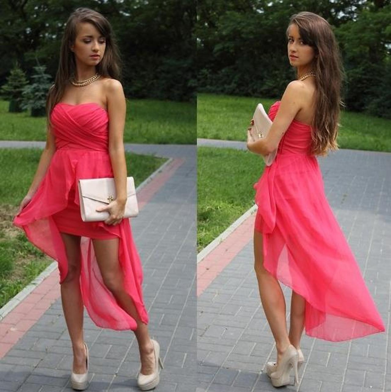 ecf8c627841 Vestidos asimétricos proponen un nuevo largo en la moda | Lifestyle ...