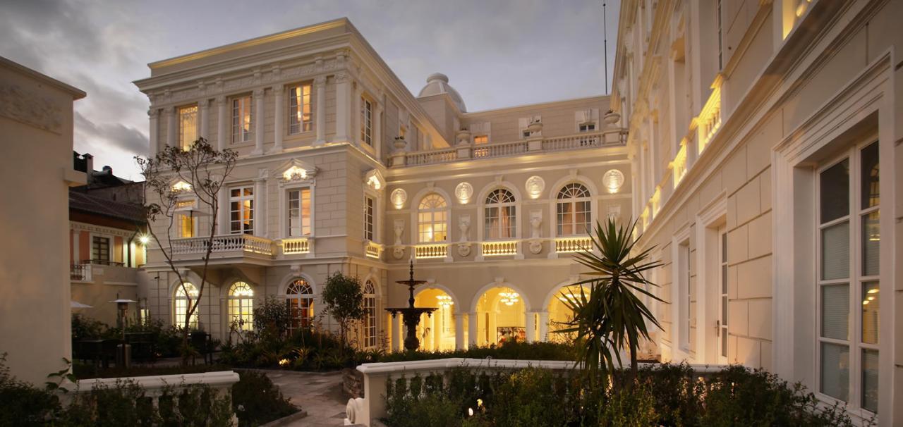Los hoteles en am rica del sur que postulan en los travel for Design hotel quito