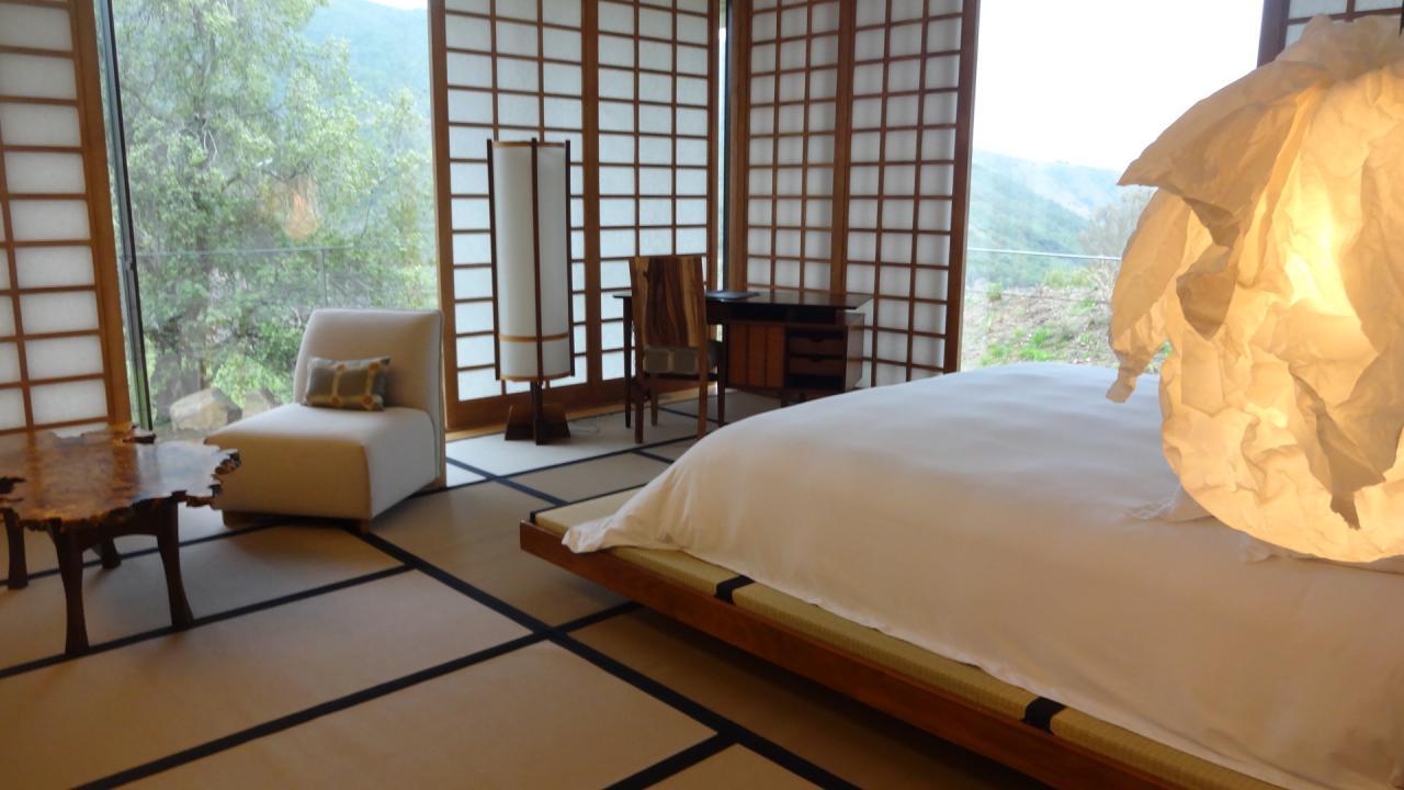 Las sorprendentes 22 habitaciones del lujoso y art stico - Lamparas estilo japones ...