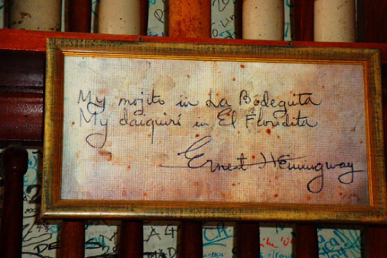 Floridita, el bar cubano que inmortalizó Hemingway ...