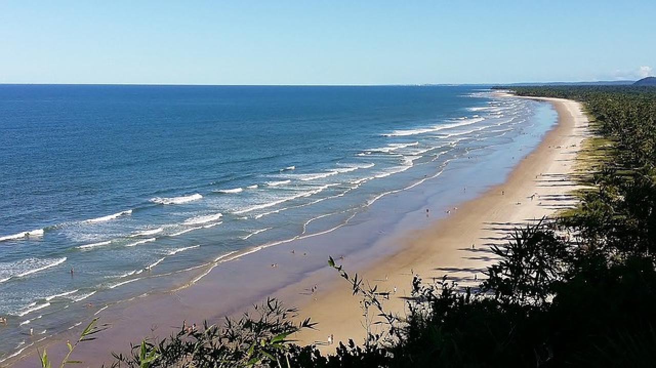 Cuatro destinos del litoral brasileño de Bahía para