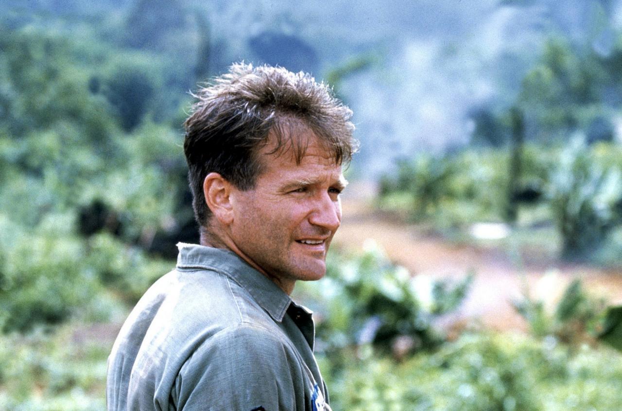 Good Morning Vietnam If You Do : Robin williams el payaso más triste de hollywood es