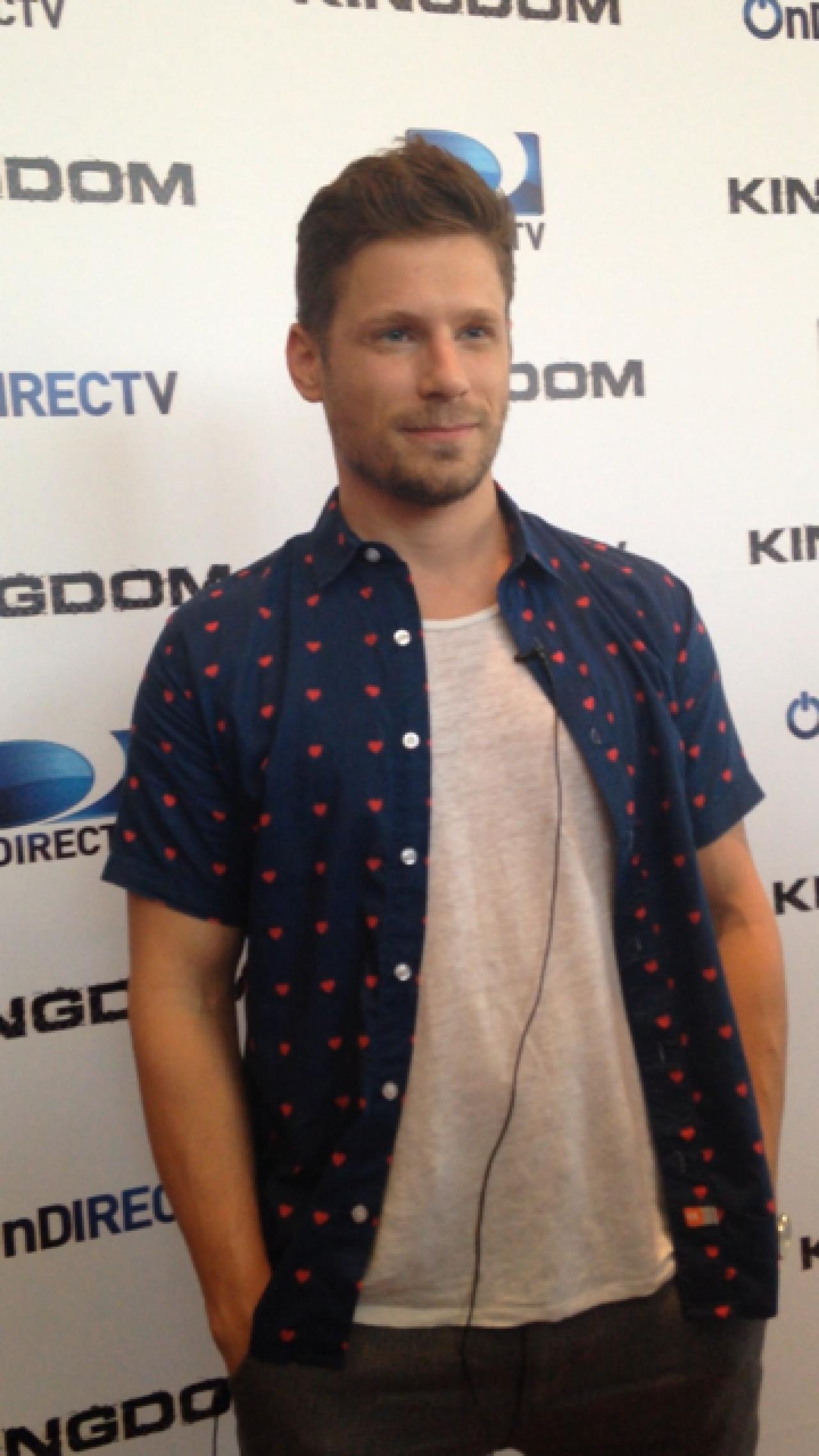"""Actor Matt Lauria y la serie """"Kingdom"""": """"es una buena ..."""
