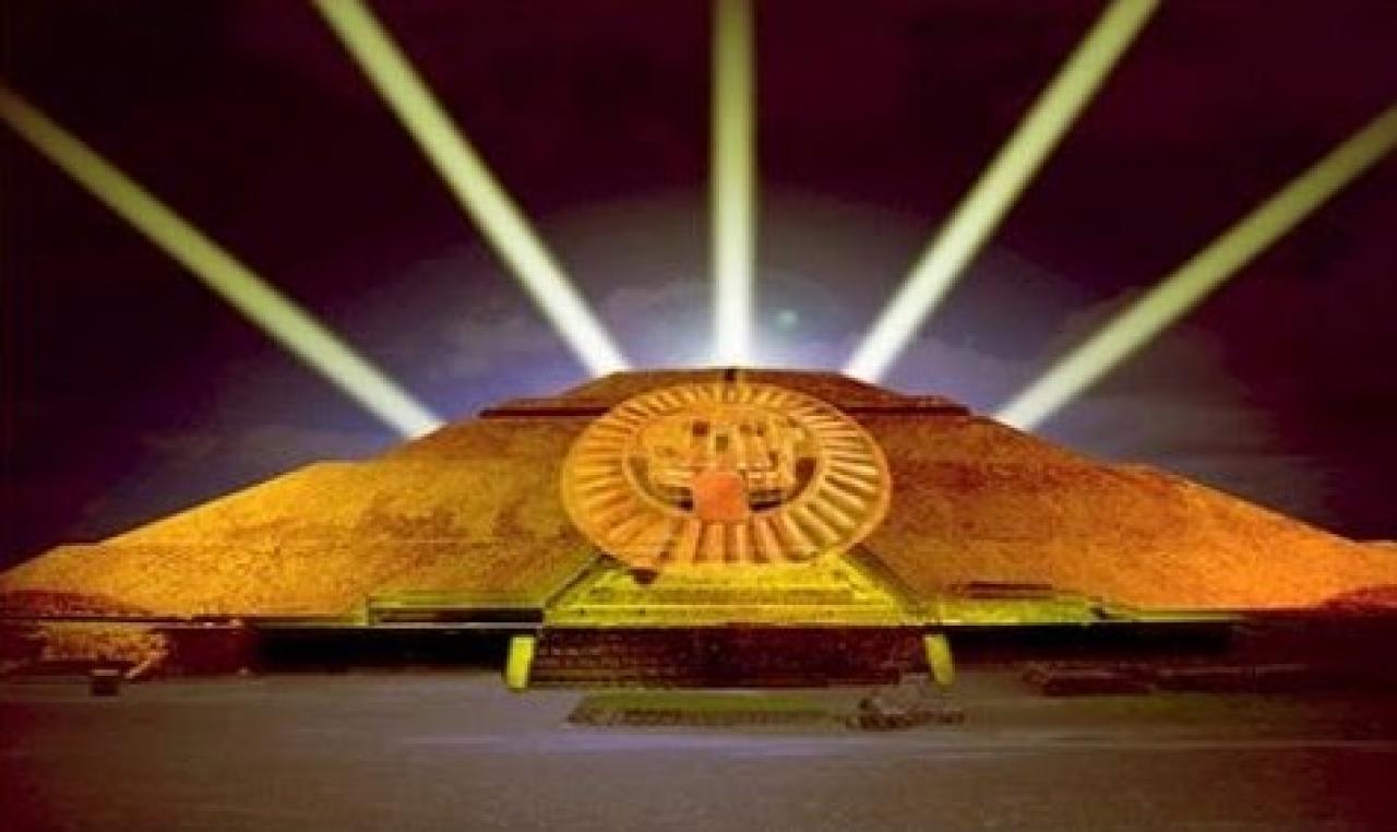 Pol mica genera en m xico anunciado espect culo de luz en Espectaculo de luces teotihuacan 2018