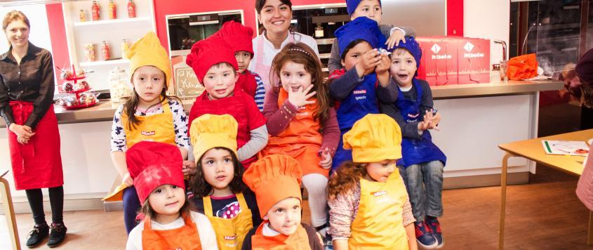 Kreative kinder las clases de cocina creativa para los for Cocina creativa para ninos